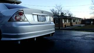 Full MeganRacing Exhaust on my 02 Honda Civic EX