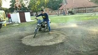 Bike stunt in Durgapur alap club Jatt Amit Singh