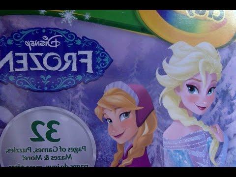 Coloring Frozen! Раскрашиваем