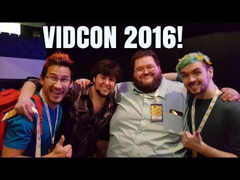 Guess who I met at vidcon 2016??