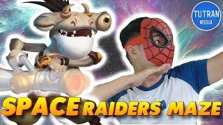 Monster Legends: Get Globrush and Van k. mark in Space raiders maze island