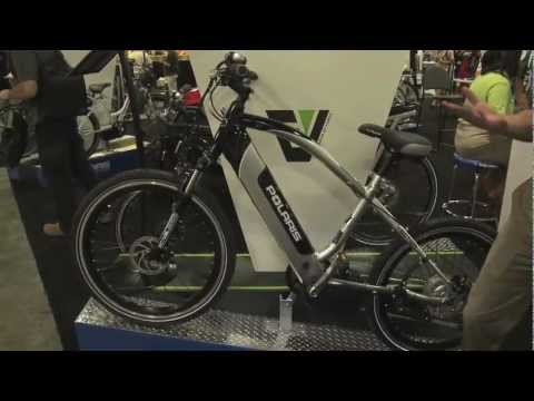 Polaris Electric Bikes at Interbike