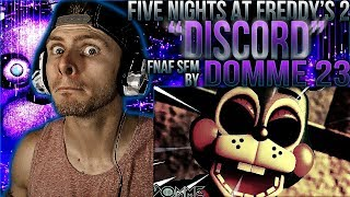 "Vapor Reacts #477 | [FNAF SFM] FNAF 2 ANIMATION ""Discord Remix"" SFM By Domme 23 REACTION!!"