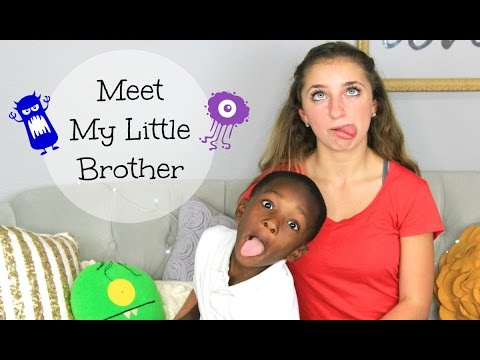 Meet My Little Brother | Brooklyn and Bailey