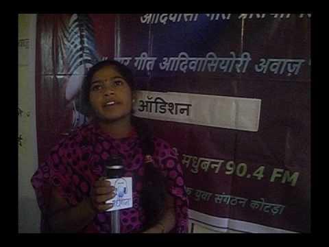 Babli Kumari -MGAA Audition - 13-10-2016- Maar Geet Adivasiyori Awaz