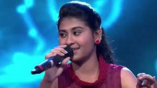 Nithyashree Indian Idol Junior chalka chalka 18th july 15