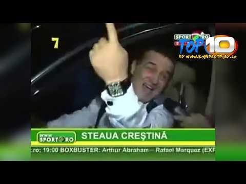TOP 10 Cele mai NEBUNE momente Best of Gigi Becali TOP 10
