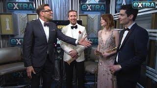 Ryan Gosling, Emma Stone & Damien Chazelle on