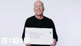 Bruce Willis Answers the Web