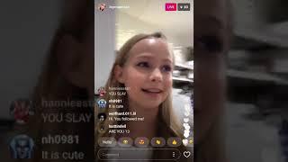 Ivy Mae (2017-11-28) (Instagram Live Video)