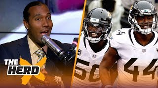 TJ Houshmandzadeh talks Jaguars emotional playing style, Cousins offensive weapons | NFL | THE HERD