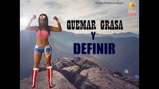 Rutina Wonder Woman | 3 - RUTINA 506 - Ejercicios con step - QUEMAR GRASA Y DEFINIR MUSCULOS - Dey