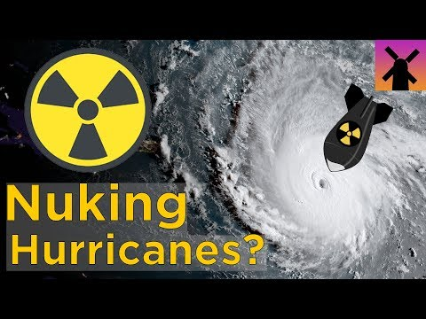 What Happens If You Drop a Nuclear Bomb Into a Hurricane