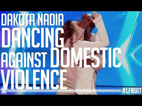 Xxx Mp4 Dakota Nadia Performed An AMAZING Dance Against Domestic Violence France S Got Talent 2018 3gp Sex