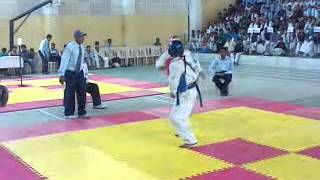 Inaugrating fights  at All India Taekwondo Federation  Cup Champ 2012 at Pestle Weed College Dehradun 0056