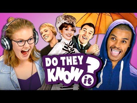 Xxx Mp4 DO TEENS KNOW MOVIE MUSICALS REACT Do They Know It 3gp Sex