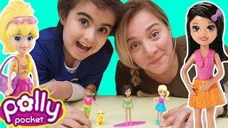 Polly Pocket Oyuncak Açtık   Eğlenceli Videolar   Oyuncak Butiğim