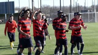 Players react to NCAA Men's Soccer Selection Show