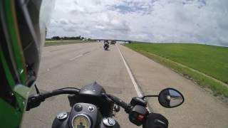 2017 Indian Chief Dark Horse Demo Ride