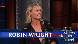 Robin Wright Stood Up For The