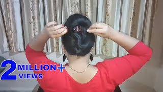 4 Easy and Unique Clutcher Hairstyles || Simple Hairstyle || Juda Hairstyle || Hairstyle
