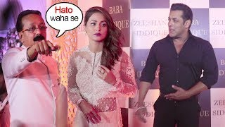 Hina Khan Shows ATTITUDE In Front Of Salman Khan At Baba Siddiqui