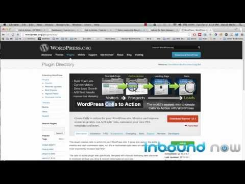 WordPress Calls to Action Plugin
