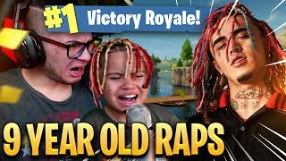 "9 YEAR OLD KID RAPS LIKE LIL PUMP ON FORTNITE WTF! ""GUCCI GANG"" FORTNITE BATTLE ROYALE FUNNY MOMENTS"