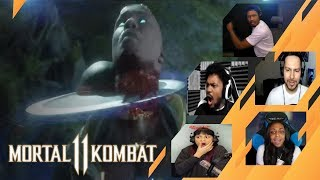 Gamers Reactions to Geras | Mortal Kombat 11