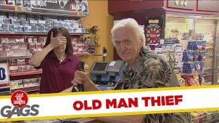 Epic Old Man PRANKS