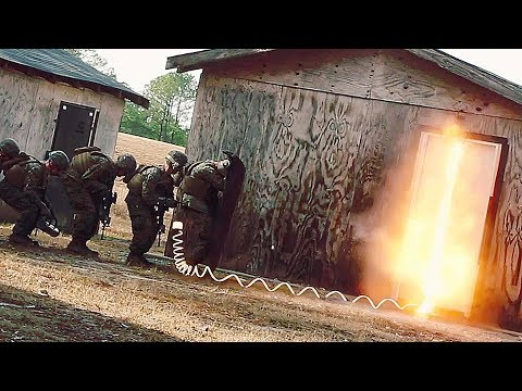 Marines Train For Door Breaching With A Bang