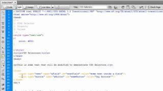 CSS Selectors Tutorial - Part 1