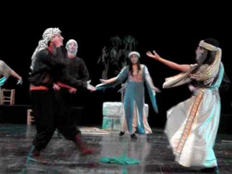 فرقة الفنون الشعبية الفلسطينية رقصة شمس ليا وليا