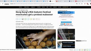 Hong Kong's mooncakes get protest makeover