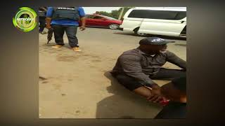 WHAT DINO MELAYE SAID TO POLICEMEN AFTER JUMPING OUT OF THEIR VAN