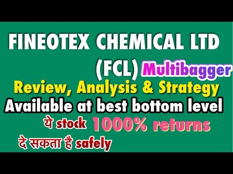 Fineotex Chemical ltd.(Fcl) Stock available at best level, Review & Strategy| 1000% multibagger