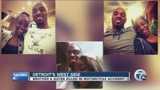 Brother & sister killed in motorcycle accident