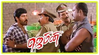 Gemini Scenes | Thennavan joins Kalabhavan Mani | Vikram plots against Mani | Murali takes charge