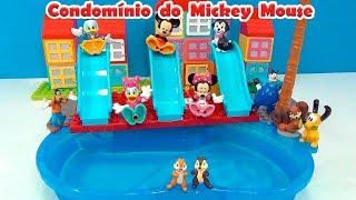 Mickey Mouse Condomínio com piscina  Lego Duplo #MICKEYMOUSE #MINNIEMOUSE #PATODONALD