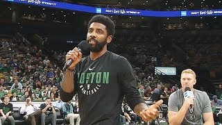 Kyrie Irving SHOCKING LIE To Celtics Crowd Then Signs With Nets To Join Kevin Durant!