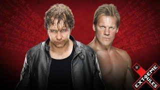 WWE Extreme Rules 2016 Dean Ambrose vs  Chris Jericho Asylum Match