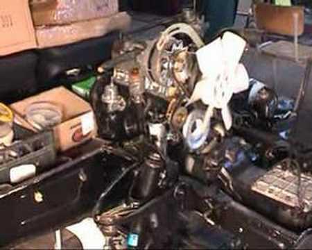 R4 Motor einbau