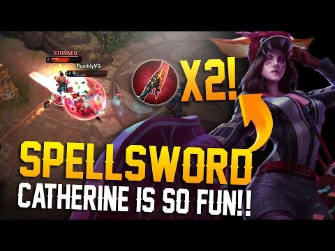 Xxx Mp4 DOUBLE SPELLSWORD CATHERINE Vainglory 5v5 Breaking The Meta Catherine WP Mid Lane 3gp Sex