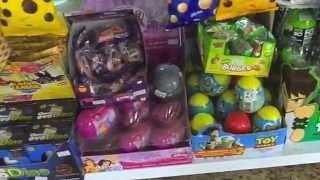 Kinder Ovo Ovos Surpresa Surprise Eggs Egg Ben 10 Papai e filhos brincando Toys Juguetes Kids