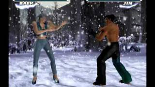 Tekken Tag PS2 in 480p with character moves swap cheat