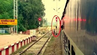 [IRI] Rare | Crossing Red Signal at Musafir Khana Station by Kumbha Express Due to Signal Failure