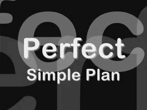 Perfect Simple Plan tradução