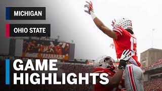 Highlights: Michigan Wolverines at Ohio State Buckeyes | Big Ten Football