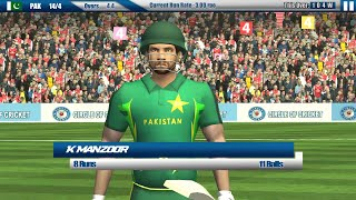 Circle Of Cricket - India Vs Pakistan Match (Bowling) Android Gameplay [HD]