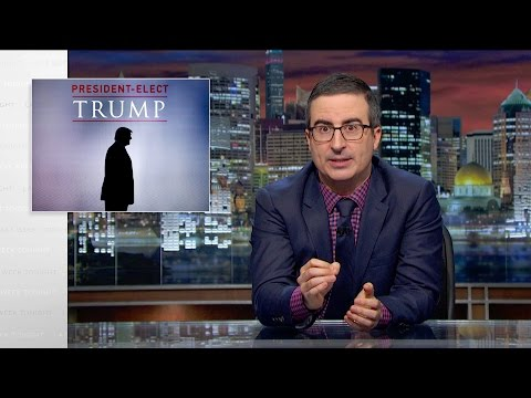 President Elect Trump Last Week Tonight with John Oliver HBO